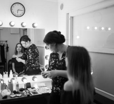 Sesja z modelką | backstage
