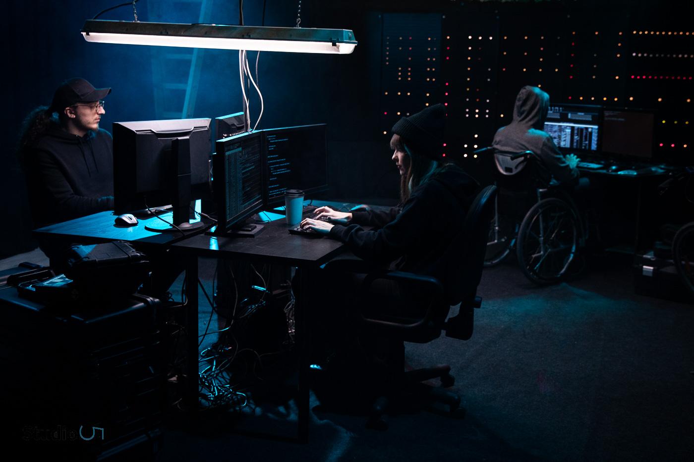 Być jak Mr. Robot | plan filmowy w naszym studio